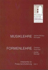 Arbeitshilfe für Posaunenchorleitung Heft 2 Musiklehre - Formenlehre