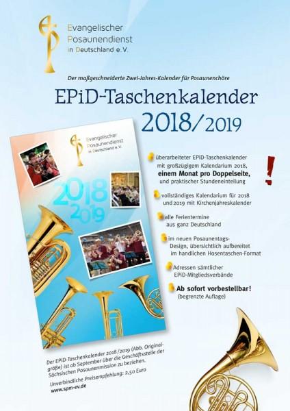 EPiD – Zweijahreskalender 2018-2019