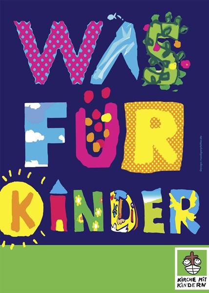 """""""Was für Kinder"""" - Banner zum Ausleihen"""