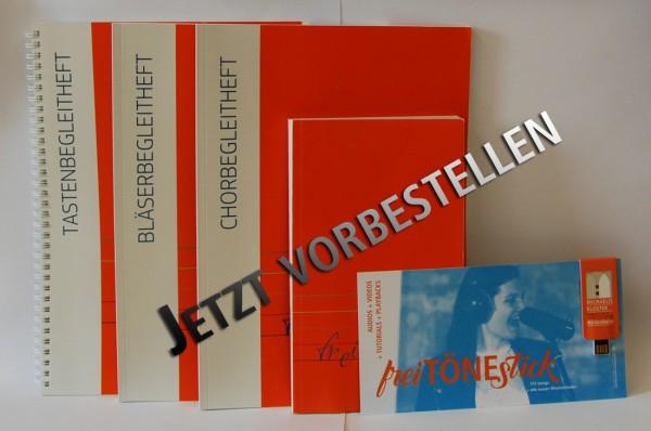 freiTöne Liederbuch + freiTöneStick + Tastenbegleitheft + Chorbegleitheft + Bläserbegleitheft