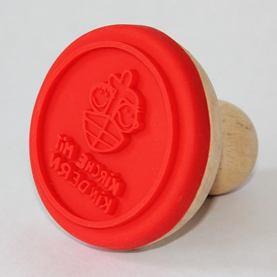 KiGo-Keksstempel mit Holzgriff