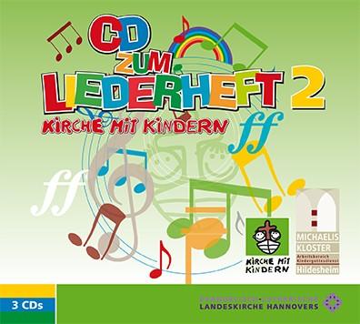 """KIMMIK-Praxis 50 """"Mitsinge CDs"""" zu Liederheft Kirche mit Kindern 2"""