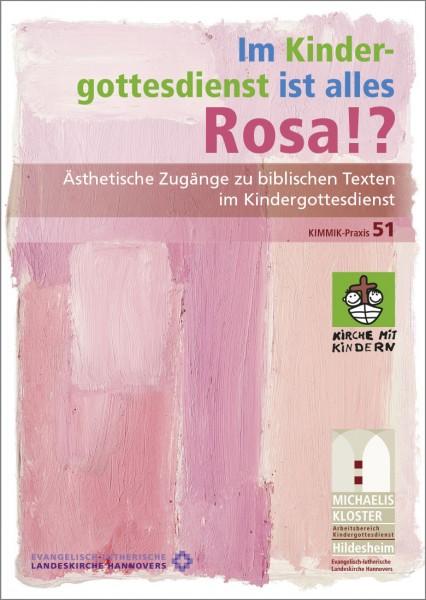 Im Kindergottesdienst ist alles Rosa!?