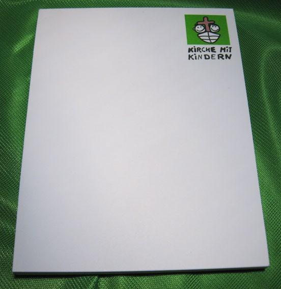 KiGo - Notizblock (blanko)