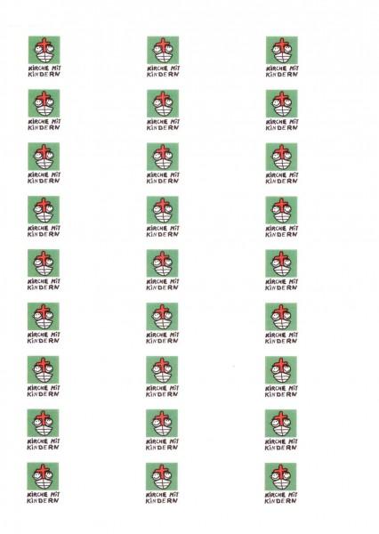 Textil-Namensschilder mit KiGo-Logo