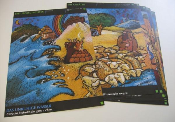 30A Bibel-Geschichtenbalken-Plakate